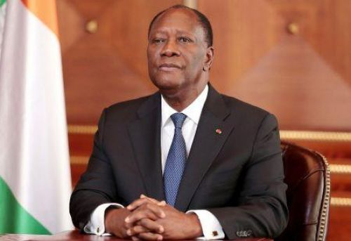Côte d'Ivoire's Alassane Ouattara says he will seek third term if aging peers also run