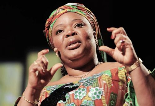 """I believe the future of Africa is female"" Nobel Peace Prize co-laureate Leymah Gbowee tells conference"