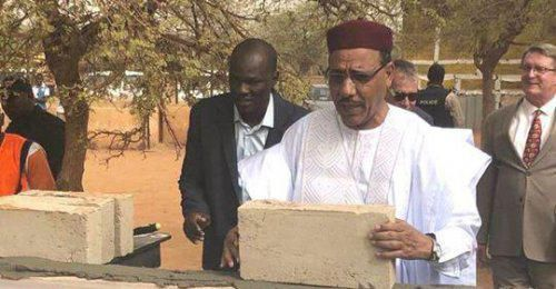 Niger lays foundation stone for domestic intelligence agency's new headquarters