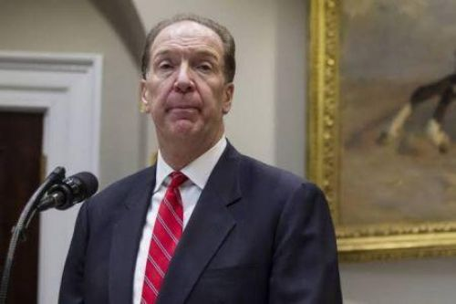 David Malpass Calls on G-20 to Suspend Bilateral Debt Repayments for the Poorest Countries
