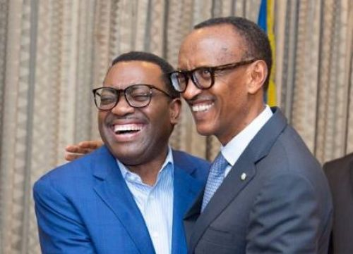 "Paul Kagame : ""Dr. Adesina, you have our full support to continue to lead the Bank"""