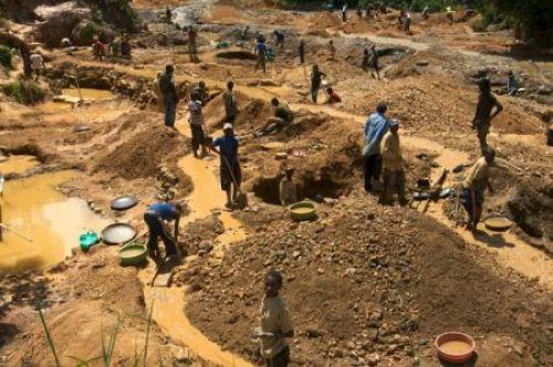 Côte d'Ivoire will collaborate with neighboring countries to combat illegal gold mining