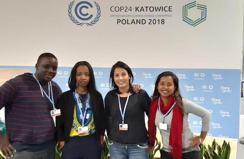 Training young African journalists on climate issues