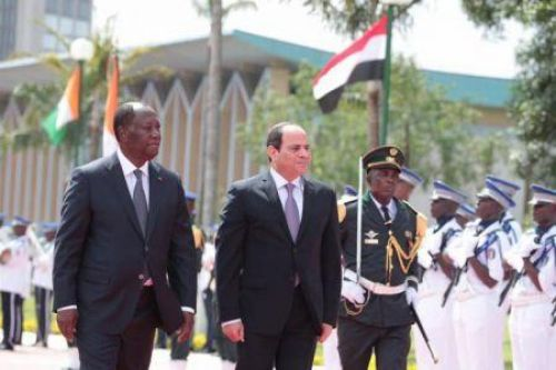 Cote d'Ivoire and Egypt sign health, culture and IT agreements