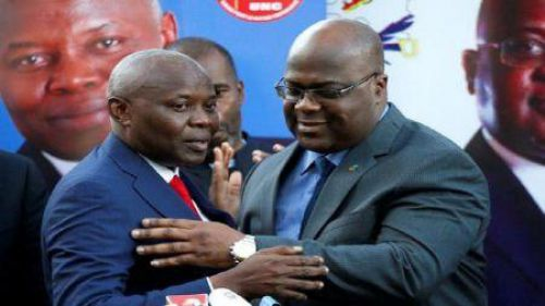 DR Congo: Félix Tshisekedi and Vital Kamerhe join forces for coming presidential election