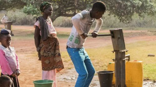 Road to Annual Meetings: South African villagers find fresh water in ancient mountain springs