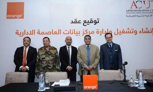Orange secures contract to build data center and cloud platform in Egypt's new administrative capital