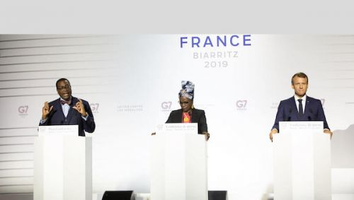G7 Summit: President Macron and G7 leaders provide Bank's AFAWA initiative with $251 million.